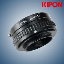 New Kipon macro helicoid adapter for Nikon F lens to Fuji X-Pro2 X-T2 Fujifilm