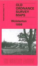 OLD ORDNANCE SURVEY MAP WOLSTANTON 1898