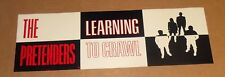 The Pretenders Learning to Crawl Flat Poster Vintage Promo 36x12