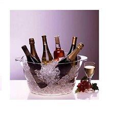 Wine Champagne Beverage Beer Chiller Ice Bucket Bottles Cooler Party Event Tub