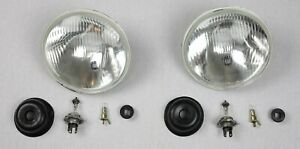 Headlight Retrofitting For Willys Jeep Plainsman Us-Modelle On Eu-Standard Tüv