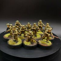 Pro Painted 28mm Bolt Action British infantry ×10 Squad #3 Warlord Games