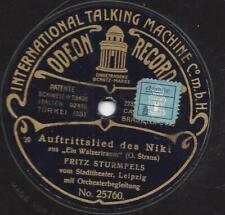 Fritz Sturmfels singt Oscar Straus Walzertraum 1907 : Auftrittslied des Niki