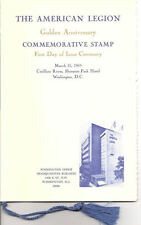 #1369-C1 First Day Ceremony Program 6c American Legion Stamp