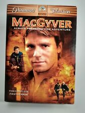 MacGyver - The Complete First Season (Dvd, 2005, 6-Disc Set) * Free Shipping *