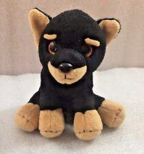 "Doberman Puppy Dog plush 6.5"" by Russ"