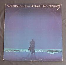 """Vinilo LP 12"""" 33 rpm NAT KING COLE - 20 GOLDEN GREATS"""