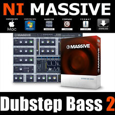 Dubstep Bass vol2 preset native instruments MASSIVE NMSV dub electro maschine