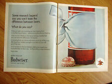1971 Budweiser Beer Ad Experts say yu can't Taste the Difference between Beers?