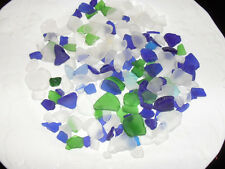 Sea Glass Embeds 8 oz. Package!  Gorgeous blues/greens/frost  Perfect for Gel...