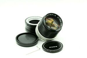 Custom JUPITER-9 Lens 2/85 custom m42 mount and Sony NEX adapter