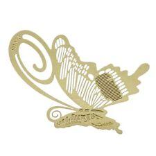 Lesezeichen Metall Schmetterling Buch Lesehilfe Geschenk Gold J2L2