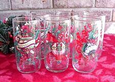 Vintage Christmas Glassware Ornament Ribbon Design House of Lloyd 1993