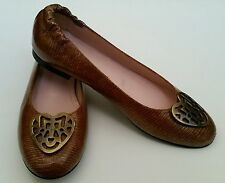 Chaussures ballerines Flavio Menorca,marron&doré,taille 40