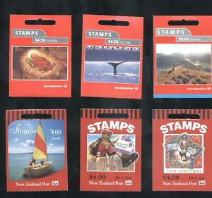 (859473) Christmas, Nature, Sailing, Whale, Booklet, Small lot, New Zealand