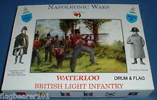 Un appel aux armes set #9 waterloo british light infantry. échelle 1/32. napoléon