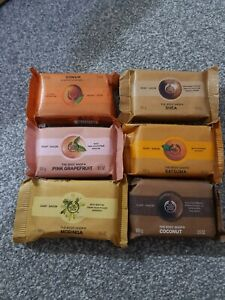 THE BODY SHOP SOAPS JOBLOT X6 100g Choose your own fragrance - FAST & FREE POST
