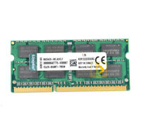 1pcs Kingston 8GB 2RX8 PC3-10600S DDR3 1333Mhz 204Pin SODIMM Laptop Memory RAM &