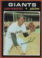 1971 Topps #325 Juan Marichal EX-EXMINT San Francisco Giants FREE SHIPPING