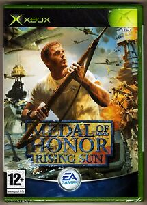 Xbox Medal of Honor Rising Sun ( 2003 ), UK Pal, New & Factory Sealed, Mint