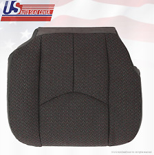 2006 GMC Sierra 2500 2500HD Front Driver Side Bottom Dark Gray Cloth Seat Cover
