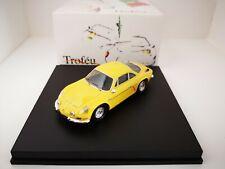 TROFEU 1/43 Alpine Renault A110 1300G Roadcar Yellow 801y