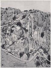 D8836 Serie di Grotte nel Carso - Stampa d'epoca - 1926 vintage print