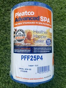 PLEATCO ADVANCED SPA FILTER CARTRIDGE WATER WAY PFF25P4 LAGAS CLX