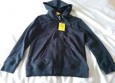 Unisex navy zip hoody from John Lewis age 9/10 years