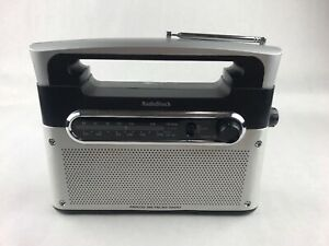 Vintage Radio Shack 12-889 AC/DC AM/FM//WX Radio Weather Band Analog Tested