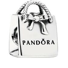 Genuine Pandora Shopping Bag charm Silver S925 ALE 791184