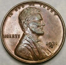 1931 S LINCOLN WHEAT CENT/PENNY VERY APPEALING TONES CRISP/SHARP SCARCE SEMI KEY