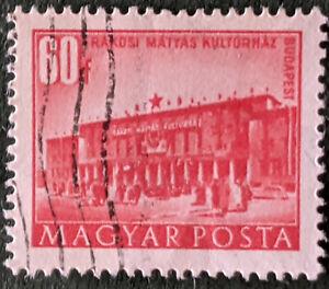 Stamp Hungary SG1184 1951 60f Matyas Rakosi Cultural Institute Used