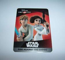 DISNEY INFINITY 3.0 Star Wars Rise Against the Empire Luke Leia Unused Web Code