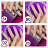24pcs/set Nail Tips Acrylic French False Nail Art Tips Full Fake Nail Tips uk