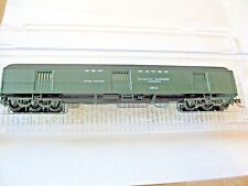 Micro-Trains #14900100 New Haven 70' Heavyweight Horse Car #3841 N-Scale