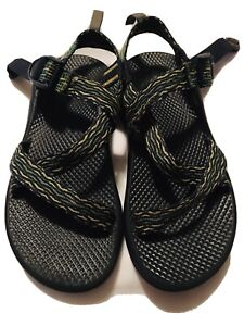 Chaco Z1 Sandals Green/Blue/Yellow Youth Unisex Size 5