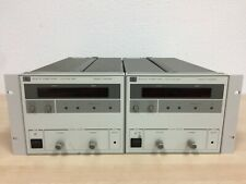 2x HP 6023A DC Power Supply 0-20V / 0-30A 200W Agilent
