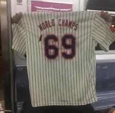 2019 NY Mets Jersey SGA Citi Field 1969 World Series Replica Shirt XL New York