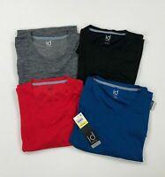 Ideology Mens Performance Shirt Short Sleeve Reflective Moisture Wick Variety