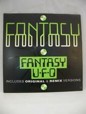 Fantasy - UFO (Original & Remix Versions) - Techno -Vinyl Record - *VG+*