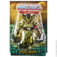 "Masters of the Universe  Evil Seed Figure Club 200X  6"" inch action Figure"