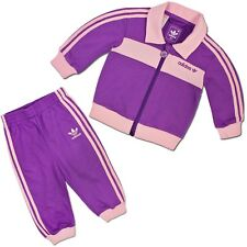 ADIDAS ORIGINALS cadeau naissance Loisirs Lot chaud bébé costume de sport lila