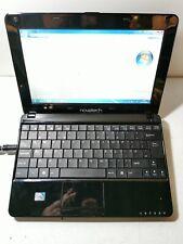 Novatech X10 Black Netbook Laptop Faulty