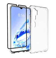 Case for Xiaomi Mi Note 10 Pro + 3D Full Glass Screen Protector Clear Gel Cover
