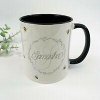 Personalised Bee Monogram Ceramic Mug