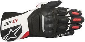 Alpinestars SP-8 V2 Gloves (X-Large, Black/White/Red)