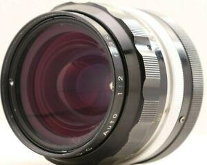 NIKON Nikkor O.C Auto 35mm f2 non-Ai Wide Angle Lens For Nikon F Japan