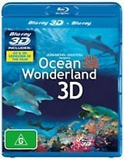 OCEAN WONDERLAND 3D - BRAND NEW & SEALED 2D + 3D BLU RAY (JEAN-MICHEL COUSTEAU)