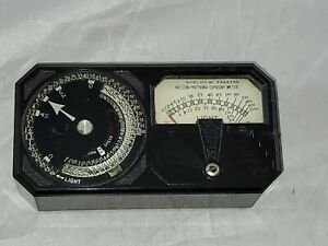 Vintage Weston Photronic Exposure Meter Model 650 With Carrying Case And Box